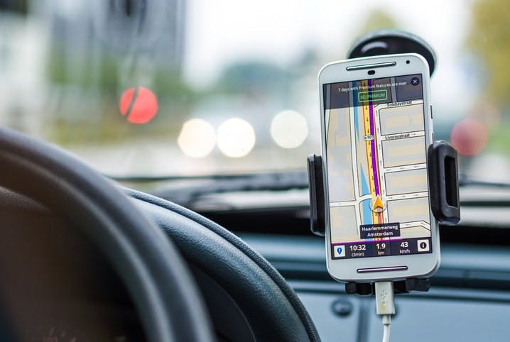 Cell Phone Navigation Image