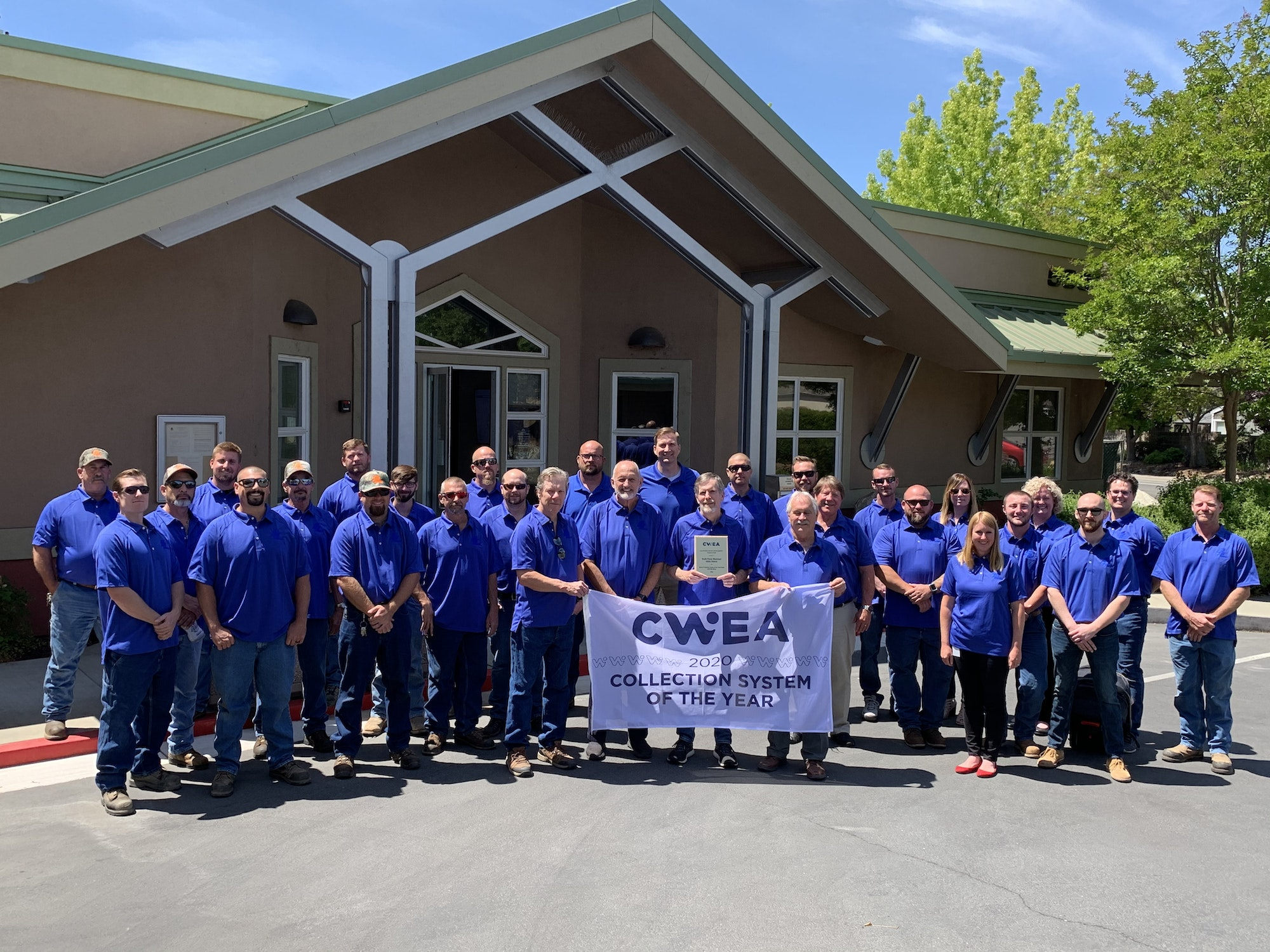 CWEA Collection System of the Year Staff Photo