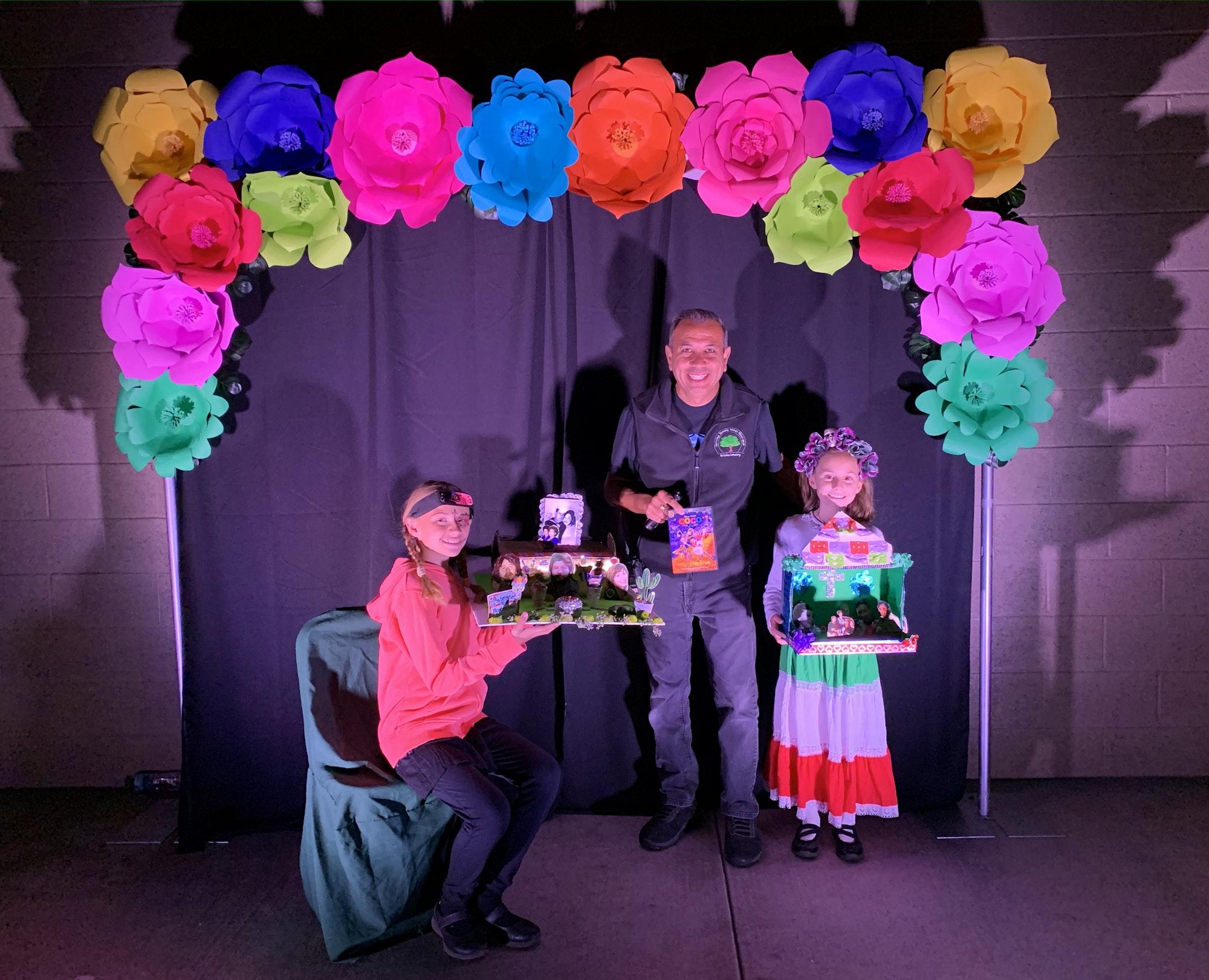 awards presented children of contest winner