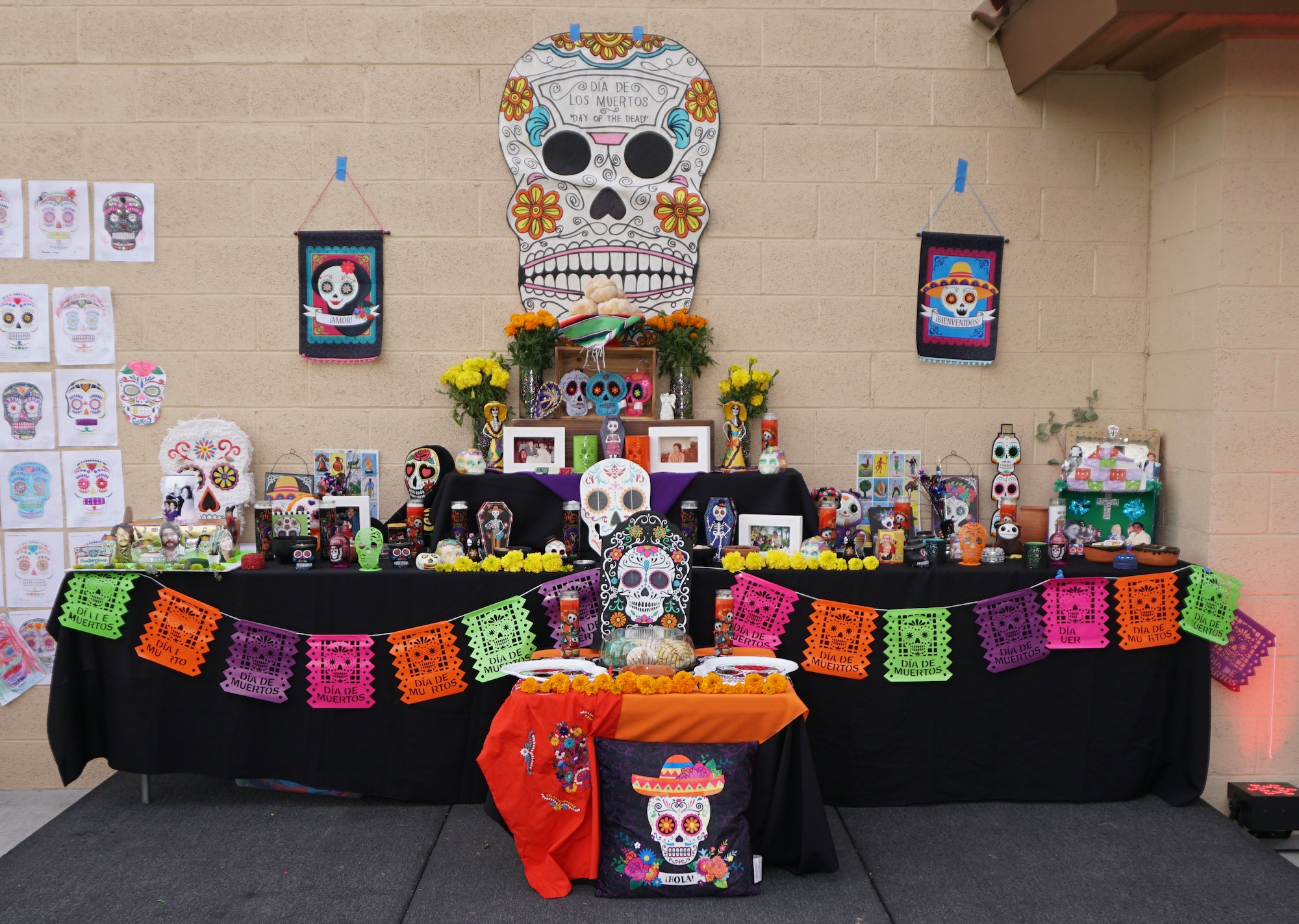 Altar for Day of the Dead