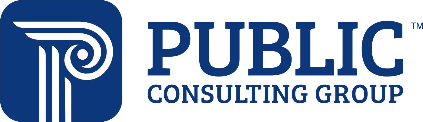 Public Consulting Group logo with Corinthian column