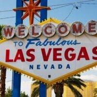 The famous Las Vegas sign!