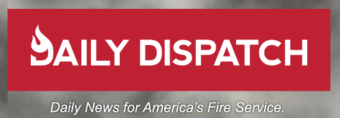Daily Dispatch Logo: Daily News for America's Fire Service