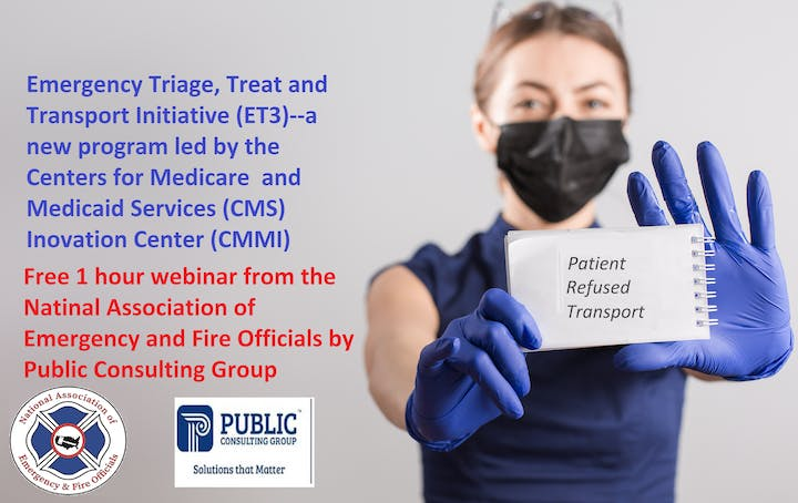 """Healthcare provider holding notepad up with note that says """"Patient refused treatment"""""""