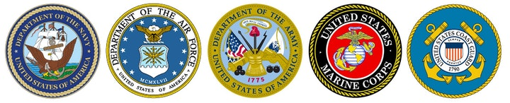 May contain: trademark, logo, symbol, military uniform, and military