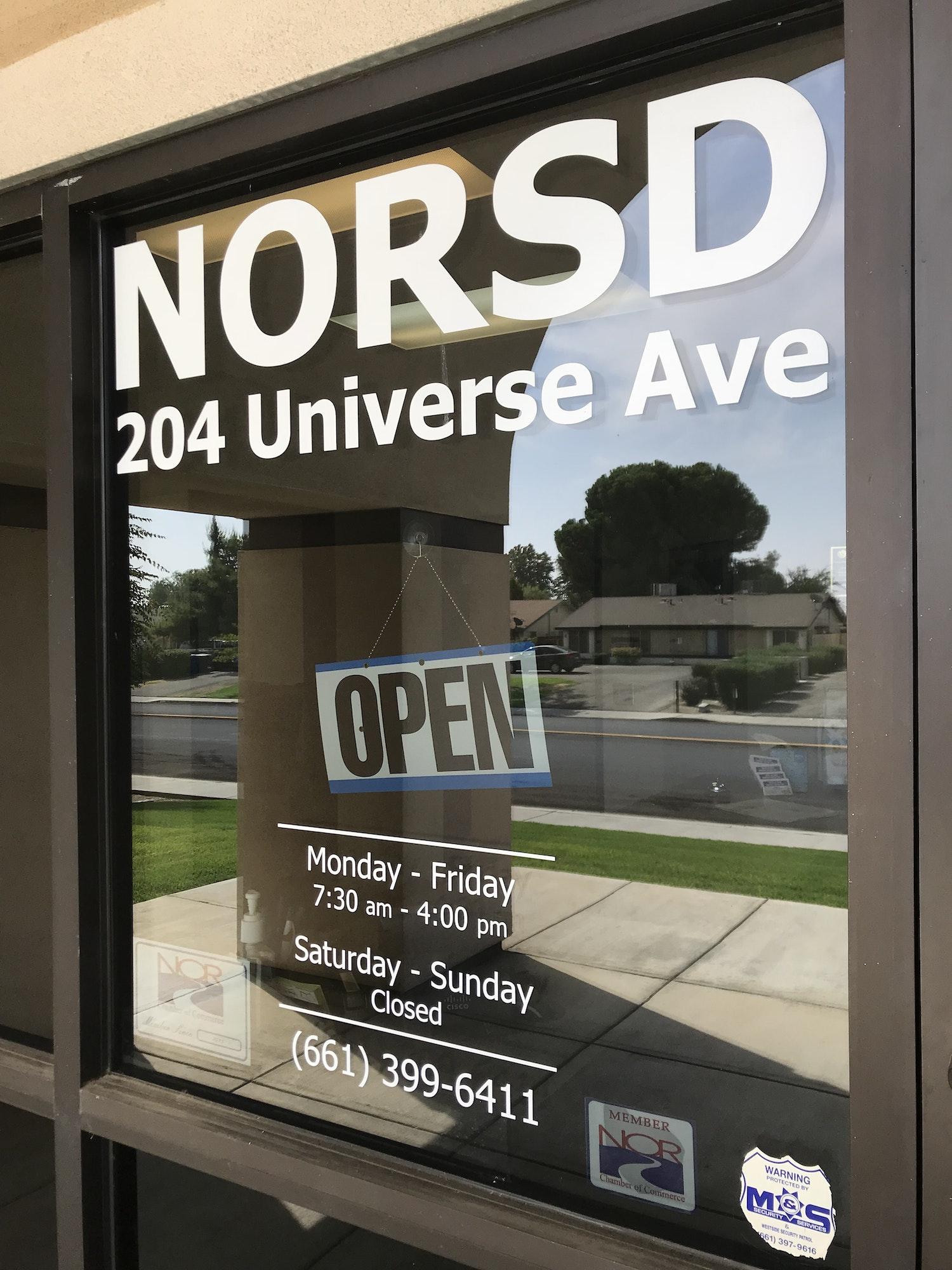 NORSD Window
