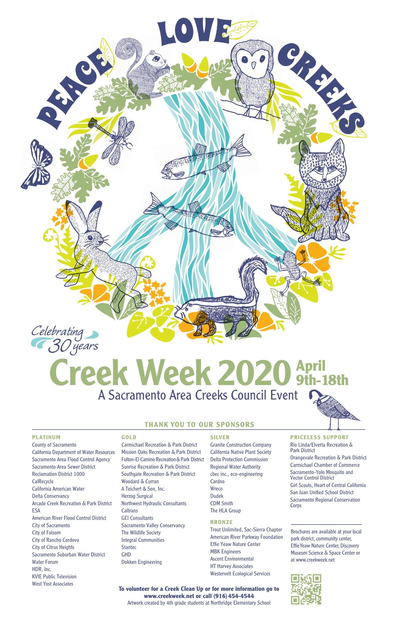 Creek Week 2020 Poster