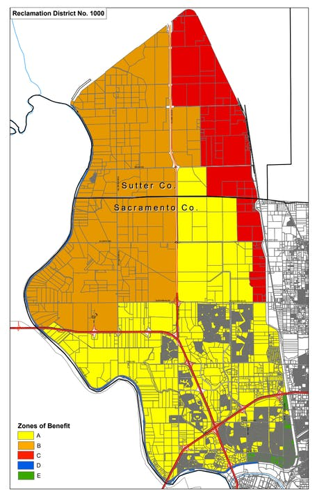 RD 1000 Assessment Zoning Map