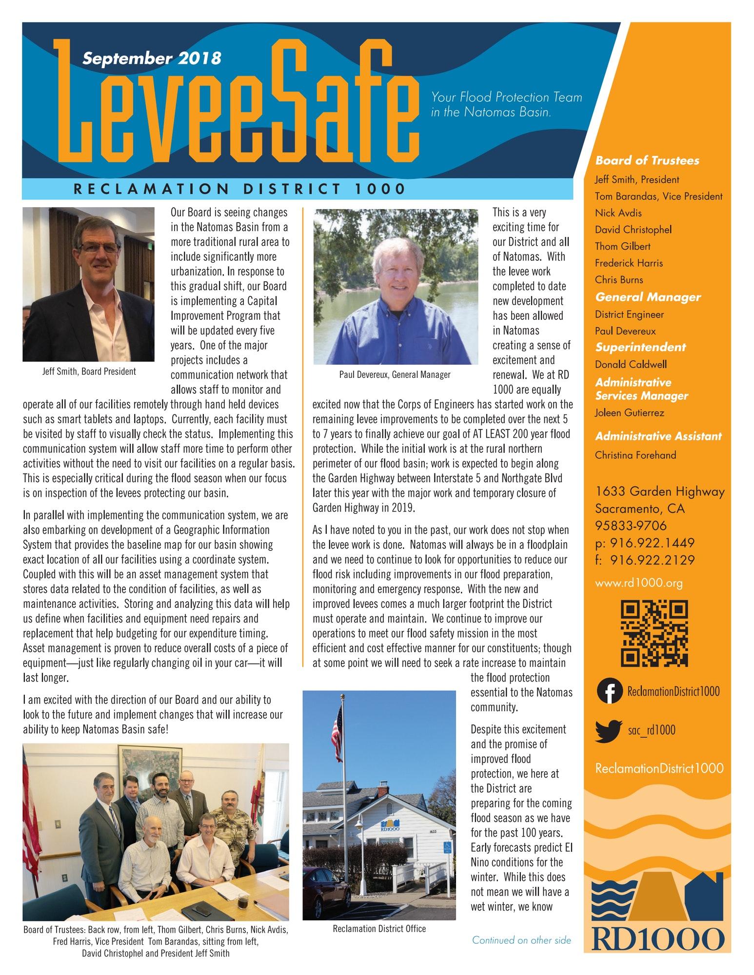RD1000 2018 newsletter