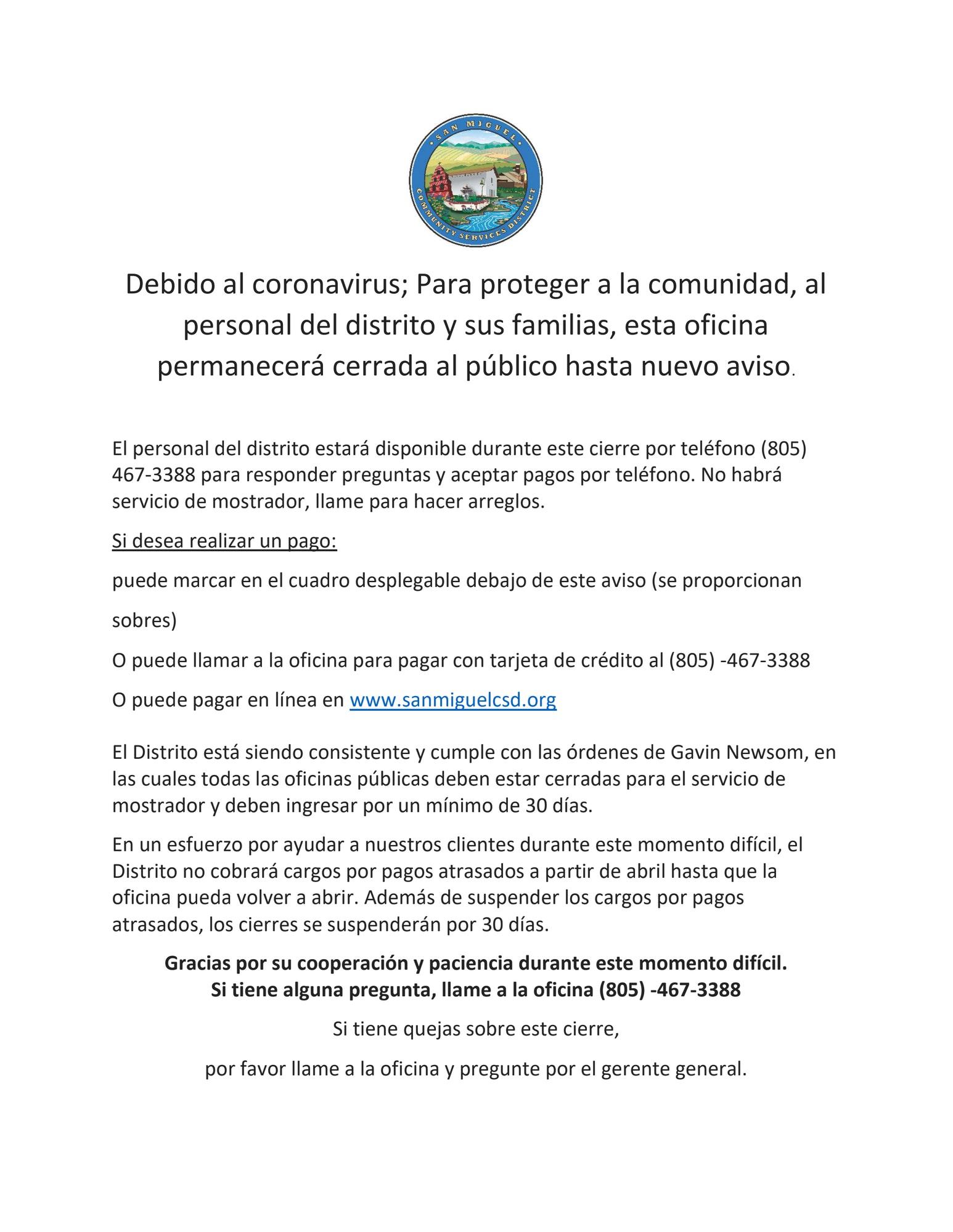 COVID-19 Spanish