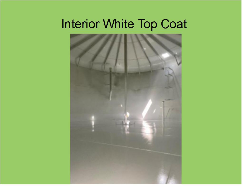 Tank 2: Interior White Coating