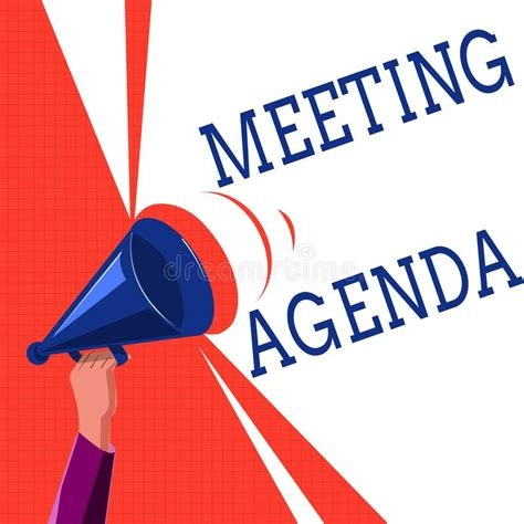 Meeting Agenda graphic
