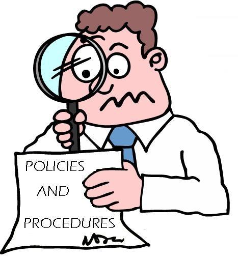 examine policies and procedures