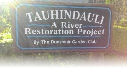 Tauhindauli Park entrance sign