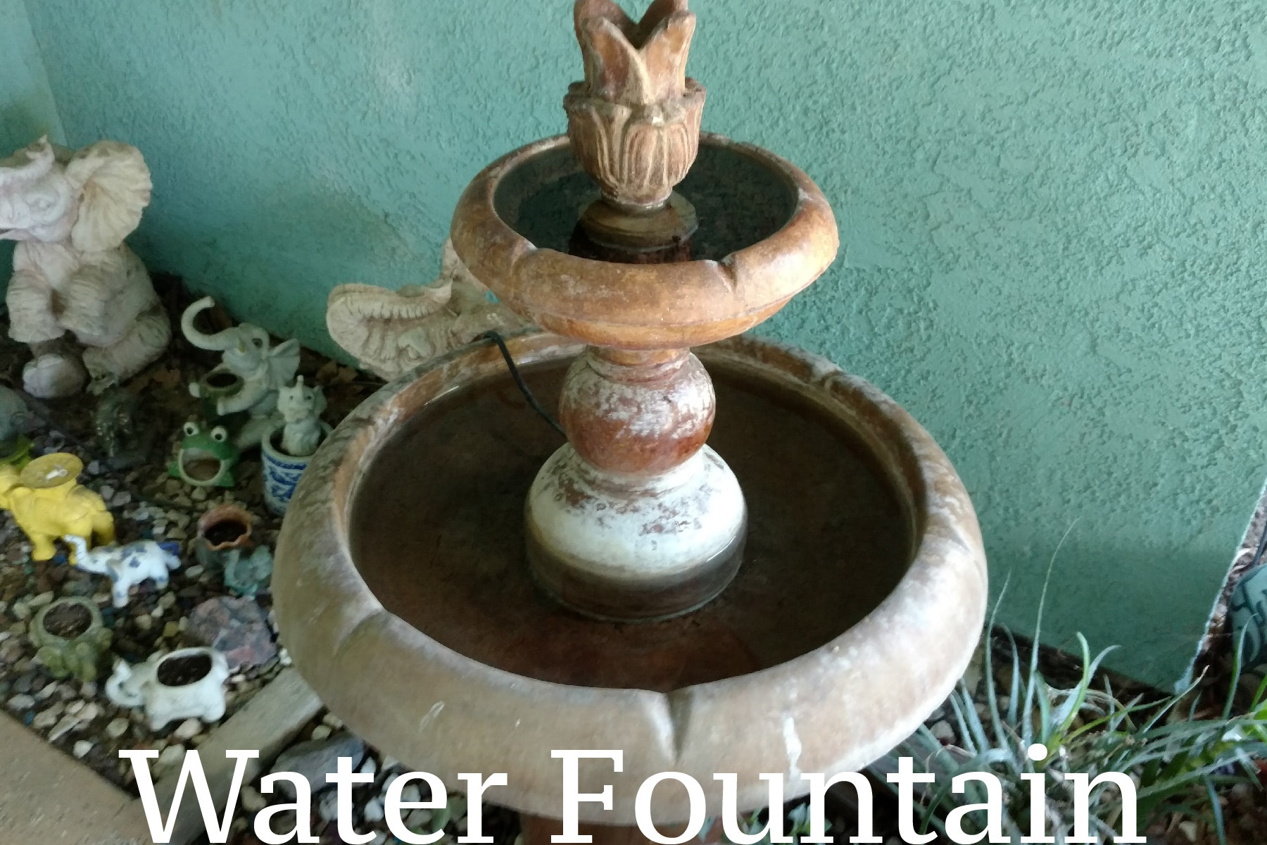 May contain: water and fountain