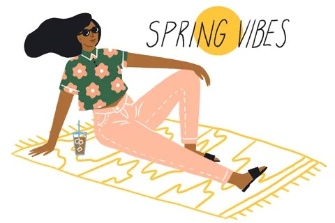 gif of spring