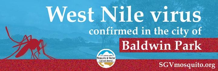 West Nile virus in Baldwin Park