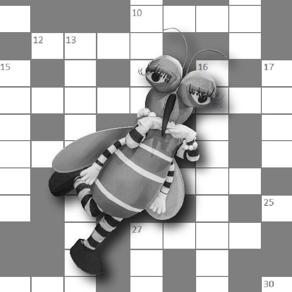 May contain: person, human, game, and crossword puzzle