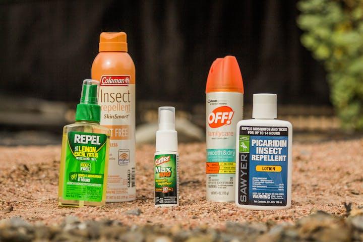Assortment of repellents