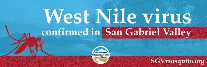 West nile virus alert in San Gabriel Valley