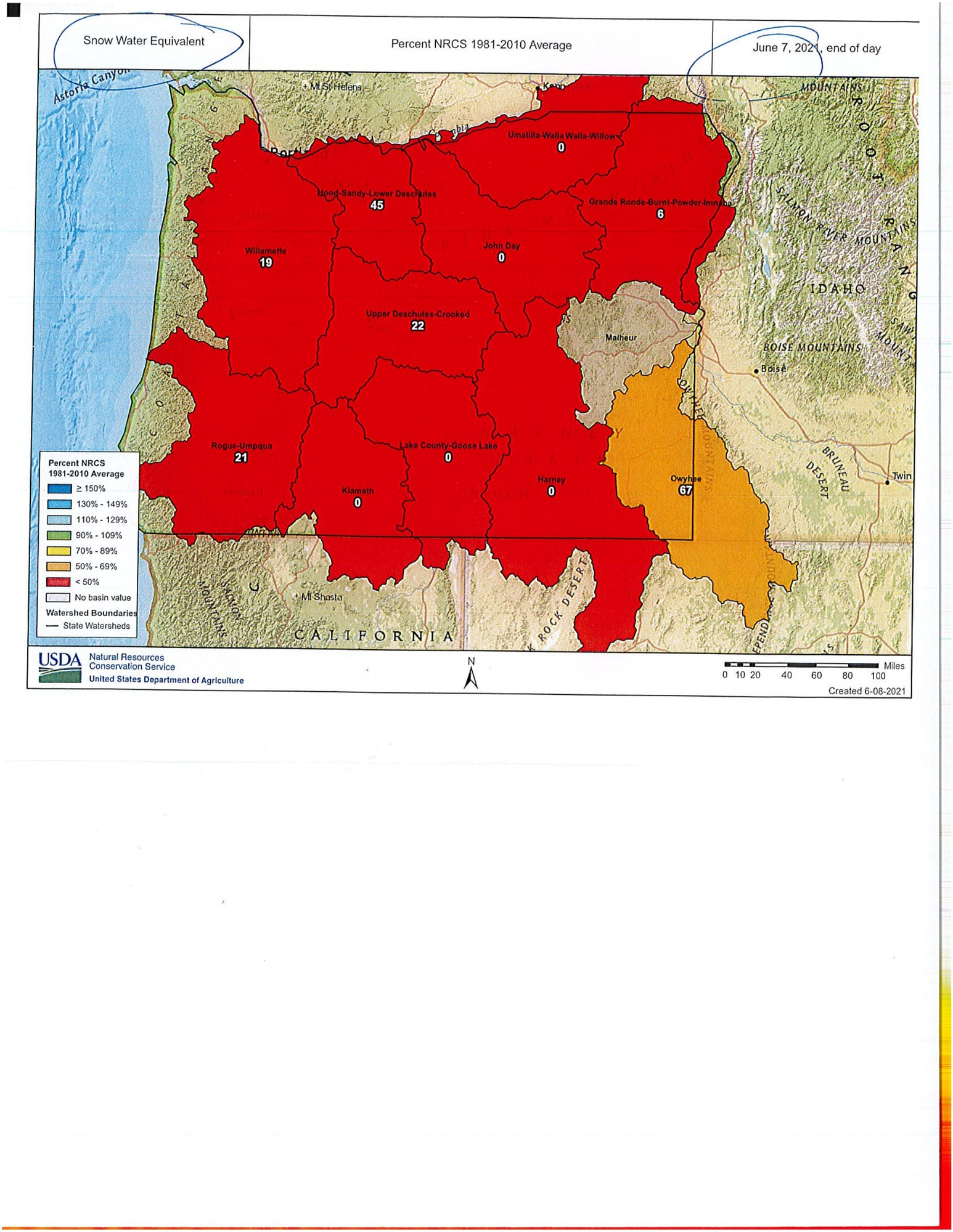 May contain map, color red