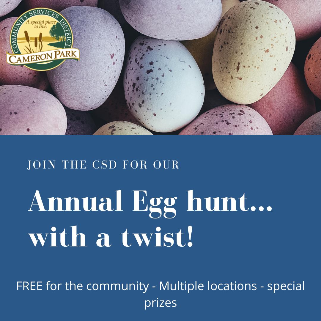 poster, Annual Egg Hunt